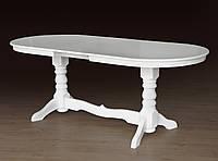 Стол обеденный Говерла  (Слоновая кость, белый) (Микс-Мебель ТМ)