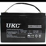 Аккумулятор BATTERY 12V 100A, фото 2