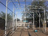 Ферма металлическая L=6м из трубы 40х40х2