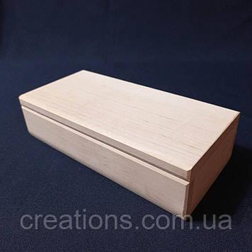 Заготовка для декупажу 20х10х5 см. шкатулка з дерева