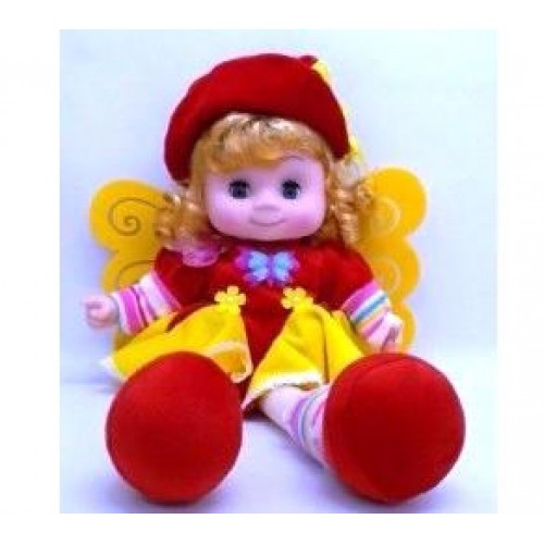 Кукла мягконабивная Fruit Dols говорит 45х23х11см