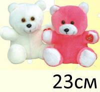 Мягкая игрушка Медвежонок Топик белый, 20см, ТМ Золушка Украина, 112-1