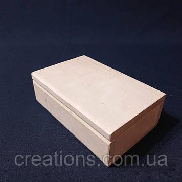 Заготовка для декупажу 15х10х5 см. шкатулка з дерева