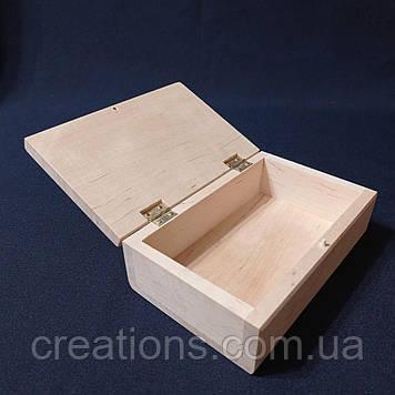 Заготовка для декупажу 12х8х5 см. шкатулка з дерева