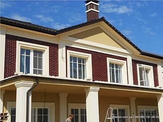 Здесь используется балюстрада с балясинами выполненные по технологии мрамор из бетона.  Срок   службы изделий  не менее 25 лет под открытым небом. Наши балясины и балюстрады обладают высокой прочностью и   плотность.