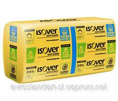 Утеплювач мінеральна вата ISOVER Скатна покрівля Теплий Дім 50х610х1170 (10м.кв/уп)