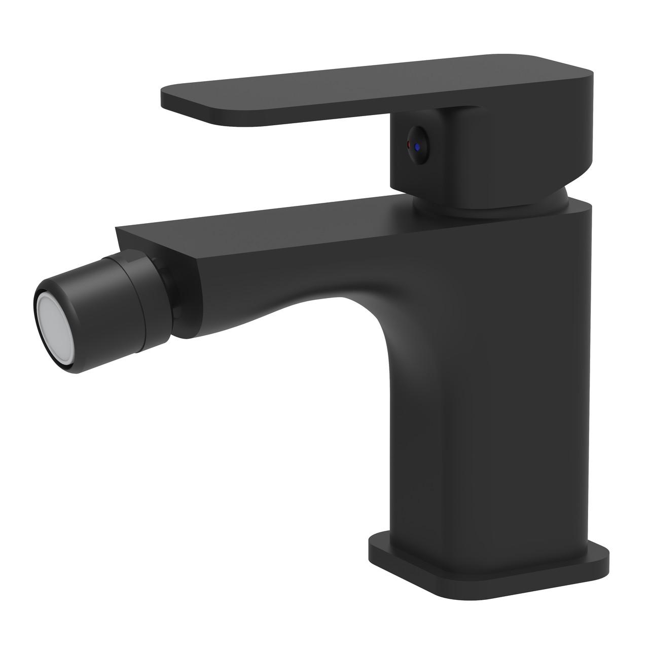 IMPRESE BILOVEC змішувач для біде, чорний мат, 35 мм