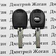 Корпус автоключа под чип для AUDI (Ауди),лезвие HU66