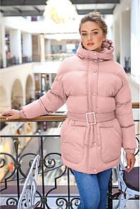 Модная женская зимняя куртка  Присцилла
