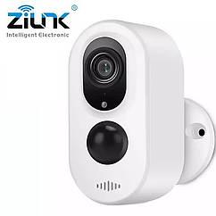 Аккумуляторная 3.0MP Wi-Fi камера Zilnk Q8-3MP с защитой от атмосферных воздействий и PIR датчиком.  i-Cam+