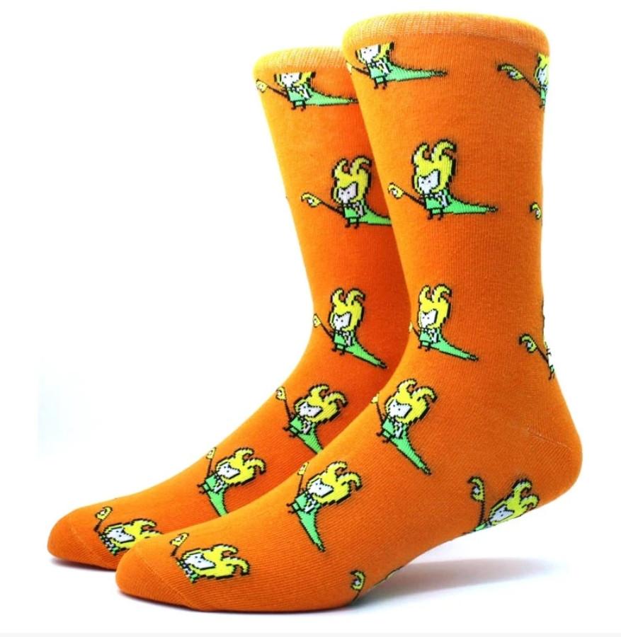 Высокие мужские носки Локи
