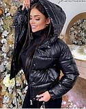 Жіноча куртка-3 кольори,Розміри:46,48,50, фото 4