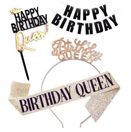 """Набір для дня народження дівчини """"Birthday Queen"""""""