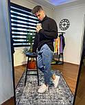 😝 Джинси - Чоловічі сірі джинси широкий фасон бойфренди, фото 3