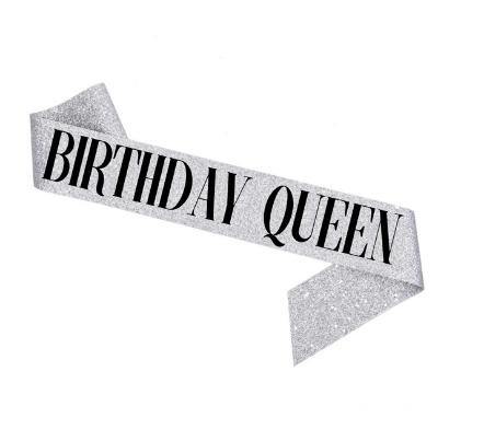 """Стрічка через плече на день народження """"Birthday Queen"""""""