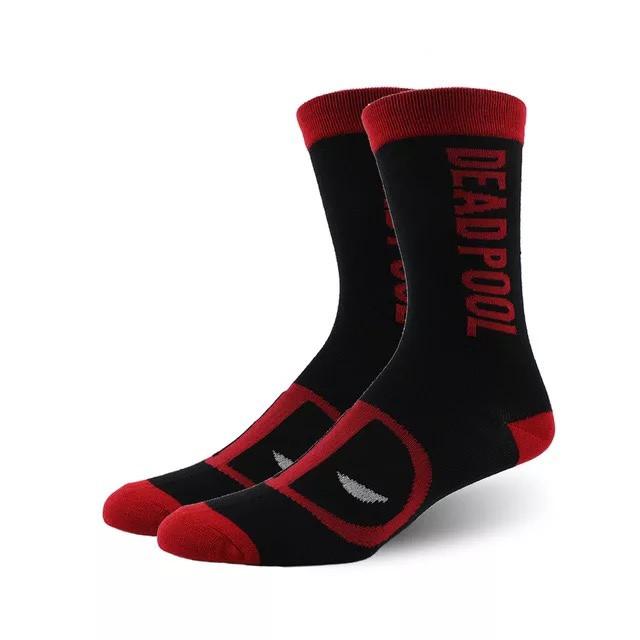 Високі чоловічі шкарпетки Дэдпул