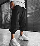 😜Спортивні штани - Чоловічі штани-спортивки світло-сірого кольору, фото 3