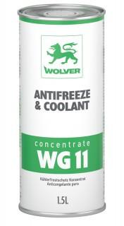 Концентрат охлаждающей жидкости WOLVER Antifreeze Concentrate WG11 Green (зеленый)