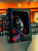 Мышь Bloody Q80 Neon XGlide USB Black