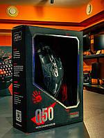 Мышь Bloody Q50 Neon XGlide USB Black