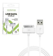 USB кабель для iPhone 4 30 pin Optima
