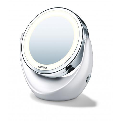 Настольное косметическое зеркало Beurer BS 49 (Германия) с 5-ти кратным увеличением и подсветкой