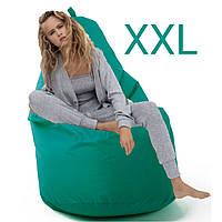Кресло мешок XXL (без наполнителя) 130 см на 80 см Оксфорд водонепромакаемая двойная ткань чехлы пуфы груши
