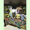 Розвиваюча дошка розмір 50*60 Бизиборд для дітей 43 елемента!, фото 5