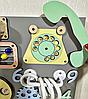 Розвиваюча дошка розмір 50*60 Бизиборд для дітей 43 елемента!, фото 6