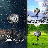 Лазерный проектор Star Shower WL-809 (разноцветные квадраты) (6736), фото 7