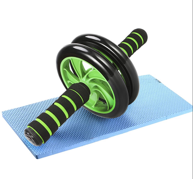 Фитнес колесо для пресса и других групп мышц Double Wheel Abs health (14219)