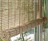 Бамбуковые ролеты рулонной сборки