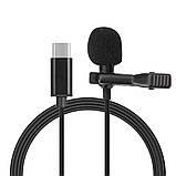 Петличний мікрофон з роз'ємом Type-C Lavalier JH-042 (6263), фото 4