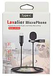 Петличний мікрофон з роз'ємом Type-C Lavalier JH-042 (6263), фото 10
