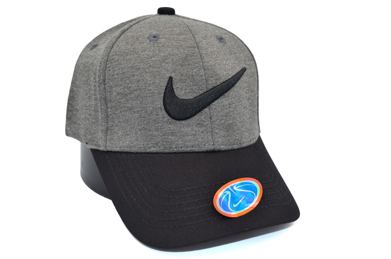 Кепка фулка Classic Nike 55-59 см темно-серая (C 0919-412)
