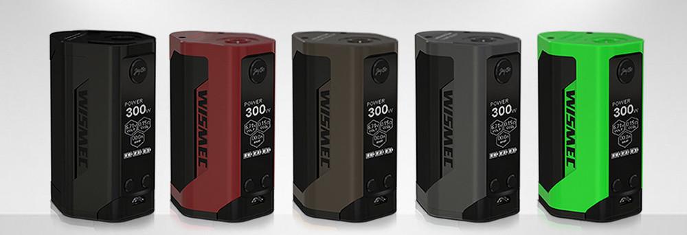WISMEC Reuleaux RX GEN3 300W MOD - Батарейный блок для электронной сигареты. Оригинал