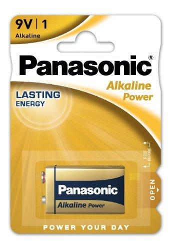 Лужні батарейки Panasonic Alkaline Power 6LF22APB/1BP, Крона, блістер 1 шт