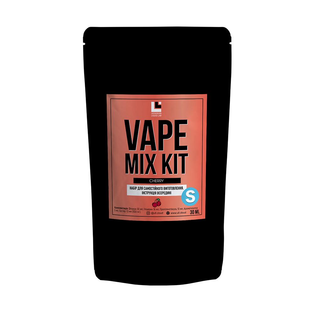 Набор для самостоятельного изготовления Vape Mix Kit salt Cherry 30 мл