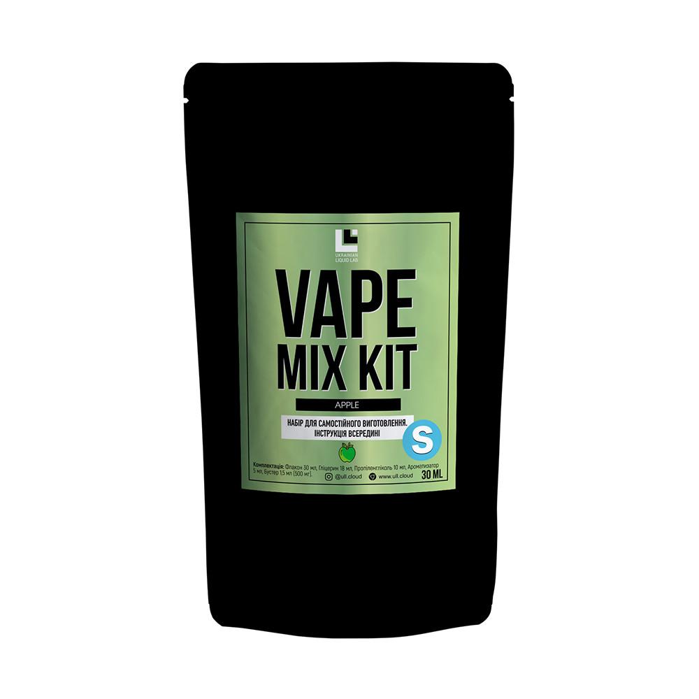Набір для самостійного виготовлення Vape Mix Kit salt Apple 30 мл