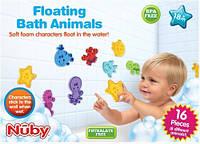 Набор липучек аква-пазлов для игры в ванной 16шт