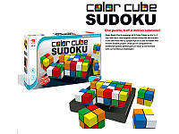 Дитяча логічна супер гра Color Cube Sudoku