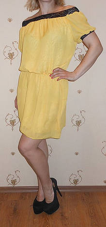 Шифоновое платье 0313
