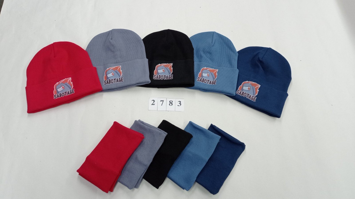 Комплект (шапка хомут) для хлопчика на весну-осінь оптом - Артикул 2783
