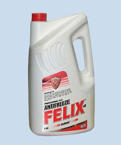 Антифриз FELIX красный А40 5кг 38382p