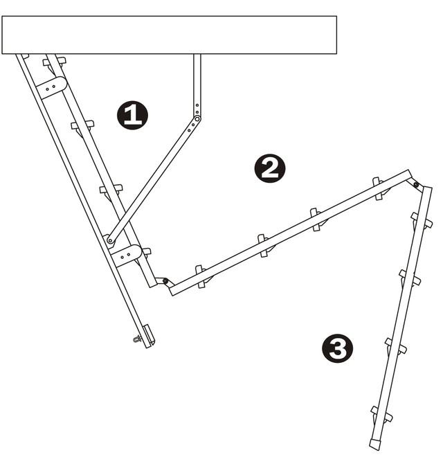 чердачная лестница металлическая | чердачная лестница оман | чердачная лестница трехсекционная