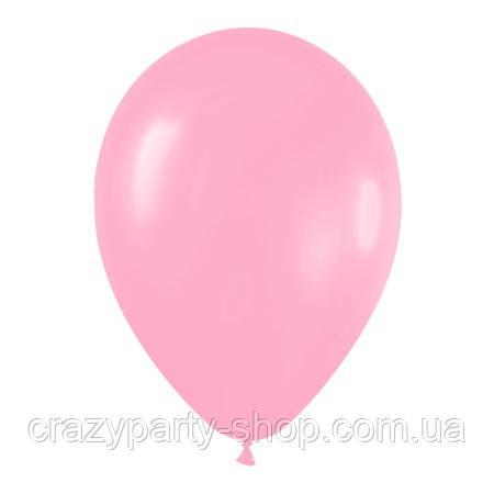 Кулька повітряний Рожевий 10 дюймів