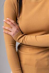 Базовый женский тонкий свитерок  в 2 цветах в размерах S/M иL/XL