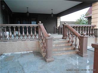 Не теряйте возможность заказать бетонную балюстраду с балясинами. Технология мрамор из бетона снимает с вас нужду ухода за данными изделиями. Наши товары не требуют дополнительной покраски или шпаклевки. Срок службы более 25   лет.