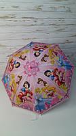 Детский зонт для девочки, Зонтик детский, трость, свисток, клеенка, Зонтик детский Принцесса МК4145, фото 1