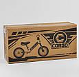 """Детский велобег """"CORSO"""" 73975  с большими колёсами и прочной рамой, для детей весом до 30 кг, желтый, фото 2"""
